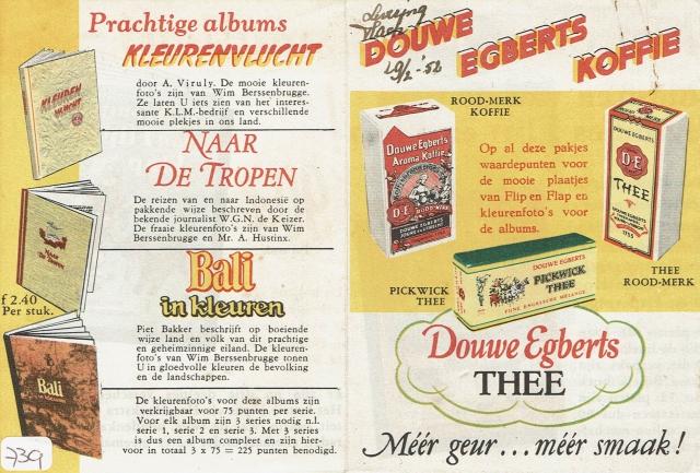 DE flyer landenalbums februari 1952