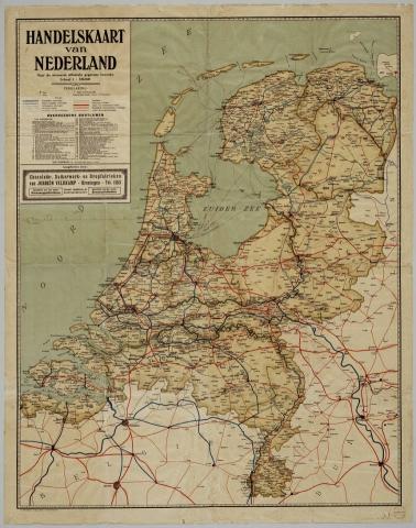 Handelskaart van Nederland JV
